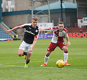 Dundee&rsquo;s Mark O&rsquo;Hara and Rangers&rsquo; Lee Hodson - Dundee v Rangers in the Ladbrokes Scottish Premiership at Dens Park, Dundee.Photo: David Young<br /> <br />  - &copy; David Young - www.davidyoungphoto.co.uk - email: davidyoungphoto@gmail.com