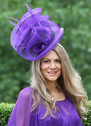 Nichola Moore  at the opening day of Royal Ascot 2013, Tuesday, 18th June 2013<br /> Picture by Stephen Lock / i-Images