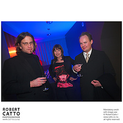 Nic McGowan;Yvonne MacKay at the Film Wellington 10th Anniversary Celebration at the Front Room, Wellington, New Zealand.<br />