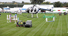 Hastings-Helicopter used to dry Horse of the Year parade ring after Cyclone Pam