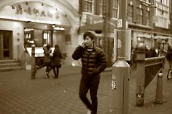 UK ENGLAND LONDON 23NOV11 - Street scene in Gerrard Street in Chinatown in the West End, central London.....jre/Photo by Jiri Rezac....© Jiri Rezac 2011