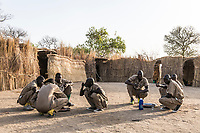 Field ranger training base, Zakouma National Park, Chad