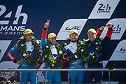 June 13-18, 2017. 24 hours of Le Mans. 13 Vaillante Rebellion, Oreca 07-Gibson, Nelson Piquet, Mathias Beche, David Heinemeier Hansson
