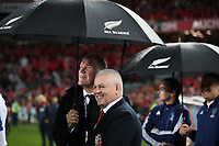 Rugby Union - 2017 British & Irish Lions Tour of New Zealand - Third Test: New Zealand vs. British & Irish Lions<br /> <br /> Warren Gatland Head Coach of The British and Irish Lions after drawing the series at Eden Park.<br /> <br /> COLORSPORT/LYNNE CAMERON