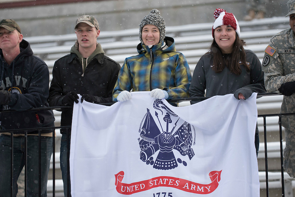 Photos from the annual Army Navy football game between ROTC programs.