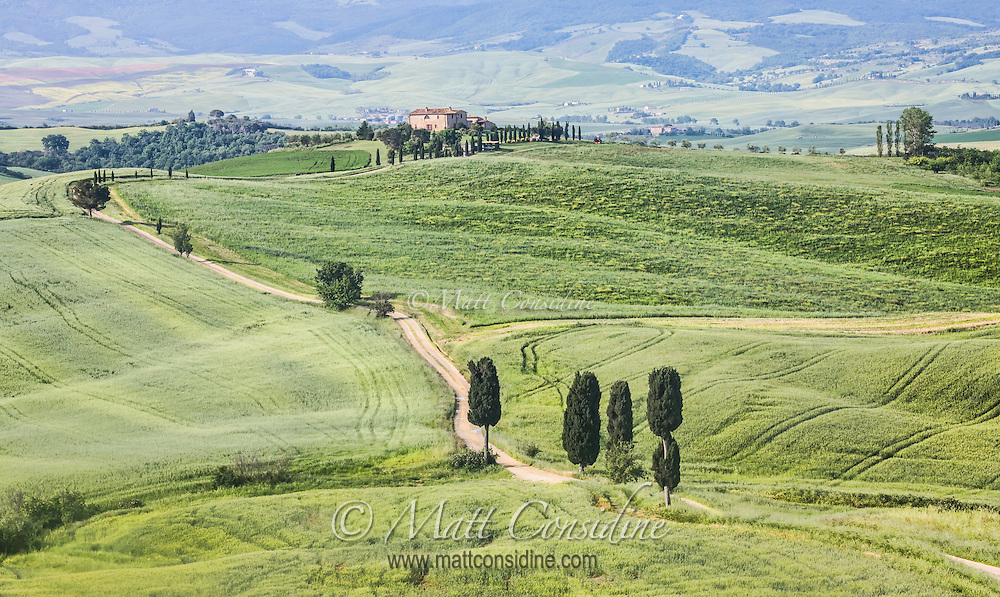 This is the road seen in movie Gladiator where Maximus Decimus Meridius (Russell Crowe) returns home. (Photo by Travel Photographer Matt Considine)