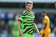 Forest Green Rovers Kyle Taylor(28),on loan from Bournemouth during the EFL Sky Bet League 2 match between Forest Green Rovers and Newport County at the New Lawn, Forest Green, United Kingdom on 31 August 2019.