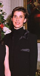 PRINCESS KYRIL OF BULGARIA at a reception in London on 16th February 1998.<br /> MFN 28 WORO