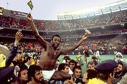 RELEASE DATE: July 7, 2006. MOVIE TITLE: Once in a Lifetime: The Extraordinary Story of the New York Cosmos. STUDIO: Passion Pictures. PLOT: The rise and fall of the N.Y. Cosmos. The soccer team that brought Pele to America; against the backdrop of N.Y. City in the 70's. PICTURED: PELE. (Credit Image: © Passion Pictures/Entertainment Pictures/ZUMAPRESS.com)