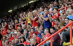 Fans - Photo mandatory by-line: Joe Meredith/JMP - Mobile: 07966 386802 - 27/09/2014 - SPORT - Football - Bristol - Ashton Gate - Bristol City v MK Dons - Sky Bet League One