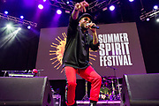 Ro James performs during the Summer Spirit Festival at Merriweather Post Pavilion in Columbia, Md on Saturday, August 5, 2017.