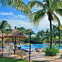 Resort Pool at Riviera Maya, Mexico<br />