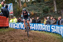 WYMAN Helen (GBR) during the Women's race, UCI Cyclo-cross World Cup at Valkenbrug, The Netherlands, 23 October 2016. Photo by Pim Nijland / PelotonPhotos.com | All photos usage must carry mandatory copyright credit (Peloton Photos | Pim Nijland)