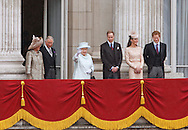"THE CHANGING FACE OF THE BRITISH MONARCHY.Seen for the first time together on the balcony of Buckingham Palace for the Finale of the 4 day Diamond Jubilee Celebration is what will be the newer streamlined Royal unit of members of the Family..It will consists of The Queen, Duke of Edinburgh (who was hospitalised), Prince Charles, Camilla, Prince William, Catherine and Prince Harry_London_05/06/2012.Mandatory Credit Photo: ©SB/NEWSPIX INTERNATIONAL..**ALL FEES PAYABLE TO: ""NEWSPIX INTERNATIONAL""**..IMMEDIATE CONFIRMATION OF USAGE REQUIRED:.Newspix International, 31 Chinnery Hill, Bishop's Stortford, ENGLAND CM23 3PS.Tel:+441279 324672  ; Fax: +441279656877.Mobile:  07775681153.e-mail: info@newspixinternational.co.uk"