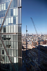 UK ENGLAND LONDON 21APR15 - View of the London skline from 201 Bishopsgate, Liverpool Street, City of London.<br /> <br /> <br /> <br /> jre/Photo by Jiri Rezac<br /> <br /> <br /> <br /> © Jiri Rezac 2015