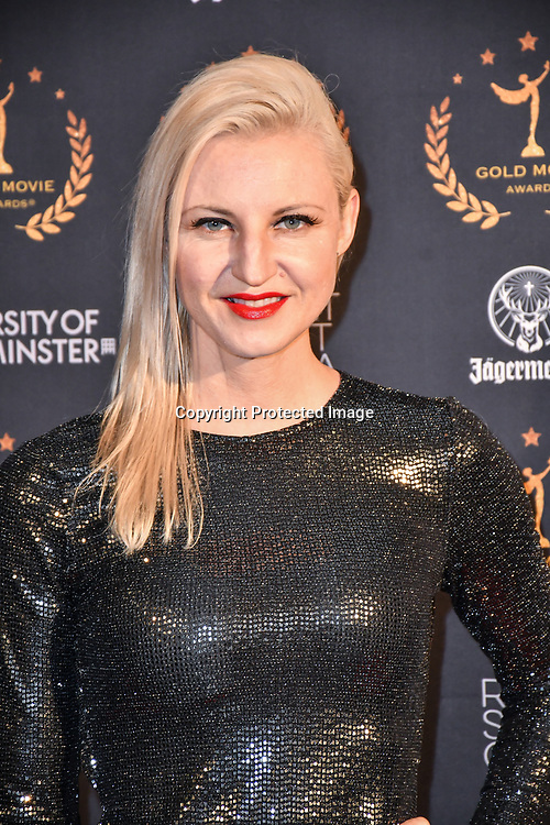 Laura Powers - Celebrity Psychic and host arrivers at Gold Movie Awards at Regents Street Theatre, on 9th January 2020, London, UK.