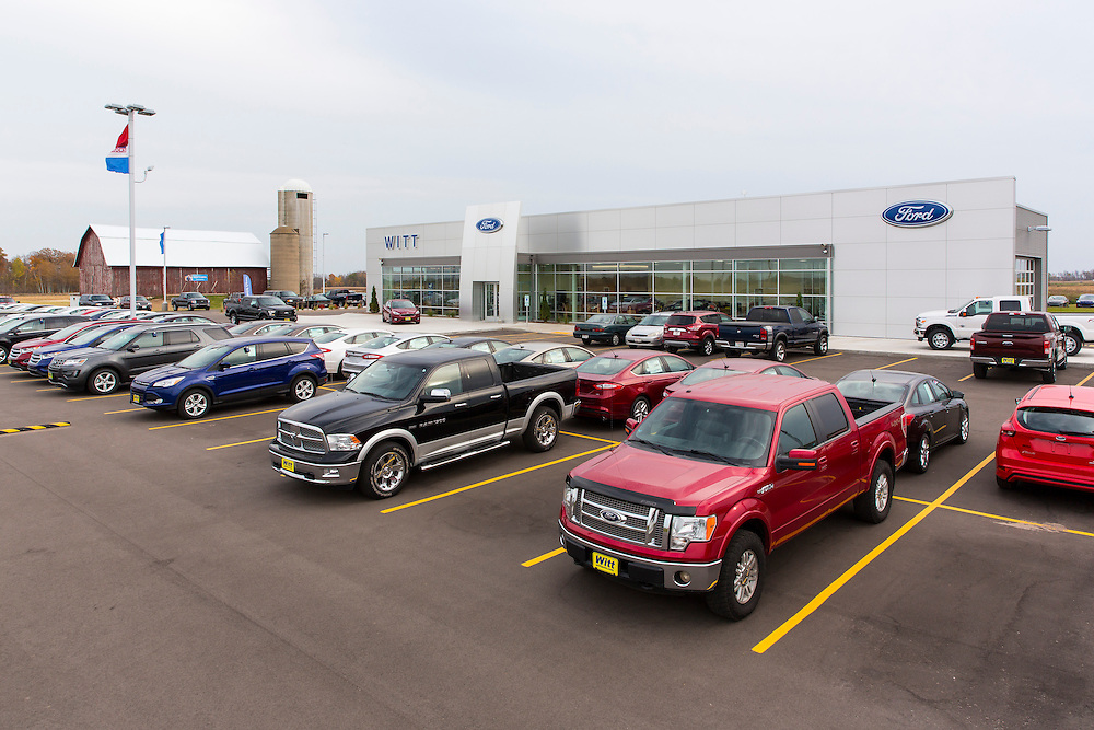 Witt Ford Pulaski Wisconsin.  Photo by Mike Roemer / Mike Roemer Photography Inc.