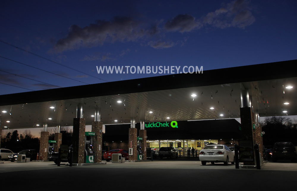 Town of Wallkill, New York - Cars are parked at the pumps at a gasoline station and convenience store at on Nov. 14, 2010.