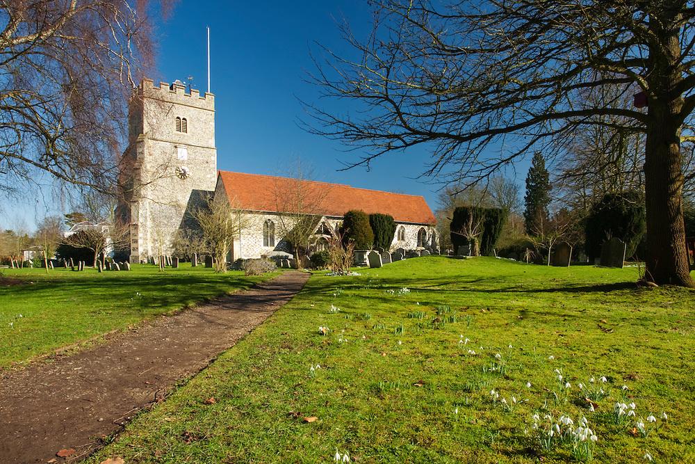 Holy Trinity Church, Cookham on Thames, Berkshire, Uk
