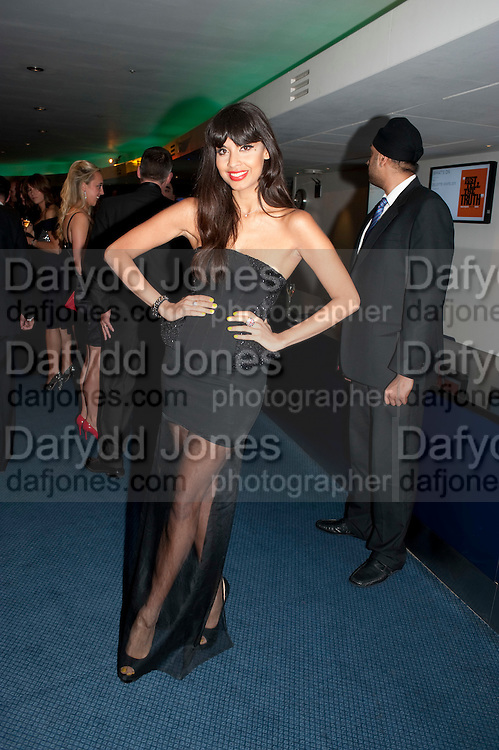JAMEELA JAMIL, GQ Man of the Year awards. The royal Opera House. Covent Garden. London. 6 September 2011. <br /> <br />  , -DO NOT ARCHIVE-© Copyright Photograph by Dafydd Jones. 248 Clapham Rd. London SW9 0PZ. Tel 0207 820 0771. www.dafjones.com.