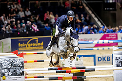 Weishaupt Maximilian, GER, Omerta Incipit<br /> Finale Youngster Tour<br /> Braunschweig - Löwenclassics 2019<br /> © Hippo Foto - Stefan Lafrentz