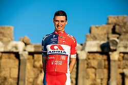 Jon Bozic during photo session of KK Adria Mobil before new cycling season, on January 17, 2019 in Side, Turkey. Photo by Vid Ponikvar / Sportida