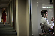 BIRMINGHAM, AL – APRIL 17, 2013: Employees at the commercial insurance and risk management firm Cobbs Allen.