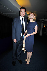 GEORGE & FRANCES OSBORNE at the annual GQ Awards held at the Royal Opera House, Covent Garden, London on 8th September 2009.