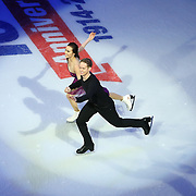 Members of the 2014 US Olympic Figure Skating Team are seen during the Smucker's Skating Spectacular at the TD Garden on January 12, 2014 in Boston, Massachusetts.