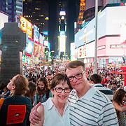Lori and Jay - Times Square, NY