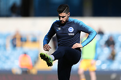 Alireza Jahanbakhsh of Brighton and Hove Albion warms up - Mandatory by-line: Arron Gent/JMP - 17/03/2019 - FOOTBALL - The Den - London, England - Millwall v Brighton and Hove Albion - Emirates FA Cup Quarter Final