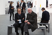 THE EARL OF MARCH, The VIP preview of Frieze. Regent's Park. London. 16 October 2013