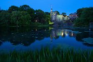 USA, East Coast, New York, Manhattan,Central Park,Belvedere Castle