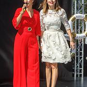 NLD/Amserdam/20150604 - Uitreiking Talkies Terras Award 2015 en onthulling cover, Kristina Bozilovic en renate Verbaan