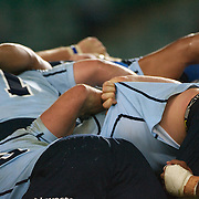 Waratahs arms in the scrum during the Super 14 match between the Waratahs and the Bulls at the Sydney Football Stadium, Sydney, Australia on April 11, 2009.  Photo Tim Clayton