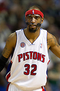 March 28 2010:  Detroit Pistons' Richard Hamilton (32) during the NBA basketball game between the Chicago Bulls and Detroit Piston at  the Palace in Auburn Hills, Michigan.