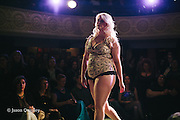 VAVA + Iron Oxide at Unmentionable: A Lingerie Exhibition at the Mission Theater in Portland, OR. Feb. 8, 2017. Photo by Jason Quigley www.photojq.com
