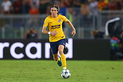 September 12, 2017 - Rome, Italy - Filipe Luis of Atletico  during the UEFA Champions League Group C football match between AS Roma and Atletico Madrid on September 12, 2017 at the Olympic stadium in Rome. (Credit Image: © Matteo Ciambelli/NurPhoto via ZUMA Press)