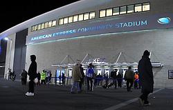The American Express Community Stadium (Falmer Stadium) - Photo mandatory by-line: Robbie Stephenson/JMP - Mobile: 07966 386802 - 24/02/2015 - SPORT - Football - Brighton - Falmer Stadium - Brighton v Leeds United - Sky Bet Championship