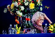AMSTERDAM - Prinses Irene op de tribune tijdens de Grote Prijs van Amsterdam op het paardenevenement Jumping Amsterdam. ANP ROBIN UTRECHT