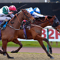 Eco Warrior and Frankie Dettori winning the 1.00 race