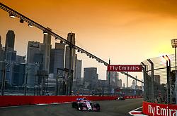 September 15, 2018 - Singapore, Singapore - Motorsports: FIA Formula One World Championship 2018, Grand Prix of Singapore, .#31 Esteban Ocon (FRA, Racing Point Force India F1 Team) (Credit Image: © Hoch Zwei via ZUMA Wire)