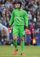 Football - 2016/2017 Premier League - Leicester Ciity V Arsenal. <br /> <br /> Petr Cech of Arsenal at The King Power Stadium.<br /> <br /> COLORSPORT/DANIEL BEARHAM