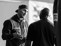 10.11.2015, Stanglwirt, Going, AUT, Wladimir Klitschko, Training, Kampfvorbereitung gegen Tyson Fury (GBR), im Bild v.l. Johnny Nelson, Wladimir Klitschko // Johnny Nelson ( L ) Wladimir Klitschko ( R ) during a training session in front of his Fight against Tyson Fury (GBR) at the Stanglwirt in Going, Austria on 2015/11/10. EXPA Pictures © 2015, PhotoCredit: EXPA/ Johann Groder