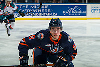 KELOWNA, BC - FEBRUARY 23: Josh Pillar #9 of the Kamloops Blazers skates against the Kelowna Rockets at Prospera Place on February 23, 2019 in Kelowna, Canada. (Photo by Marissa Baecker/Getty Images)