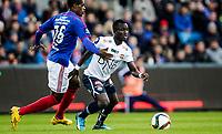 Fotball<br /> Tippeligaen runde 1<br /> Vålerenga VIF - Strømsgodset<br /> Ullevål Stadion 06.04.15<br /> Mohammed Adu<br /> Foto: Eirik Førde
