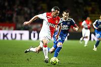 Jeremy TOULALAN / Maxime GONALONS - 01.02.2015 - Monaco / Lyon - 23eme journee de Ligue 1 -<br />Photo : Serge Haouzi / Icon Sport