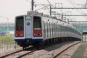 Subway line Nr. 3 at Daegok station.