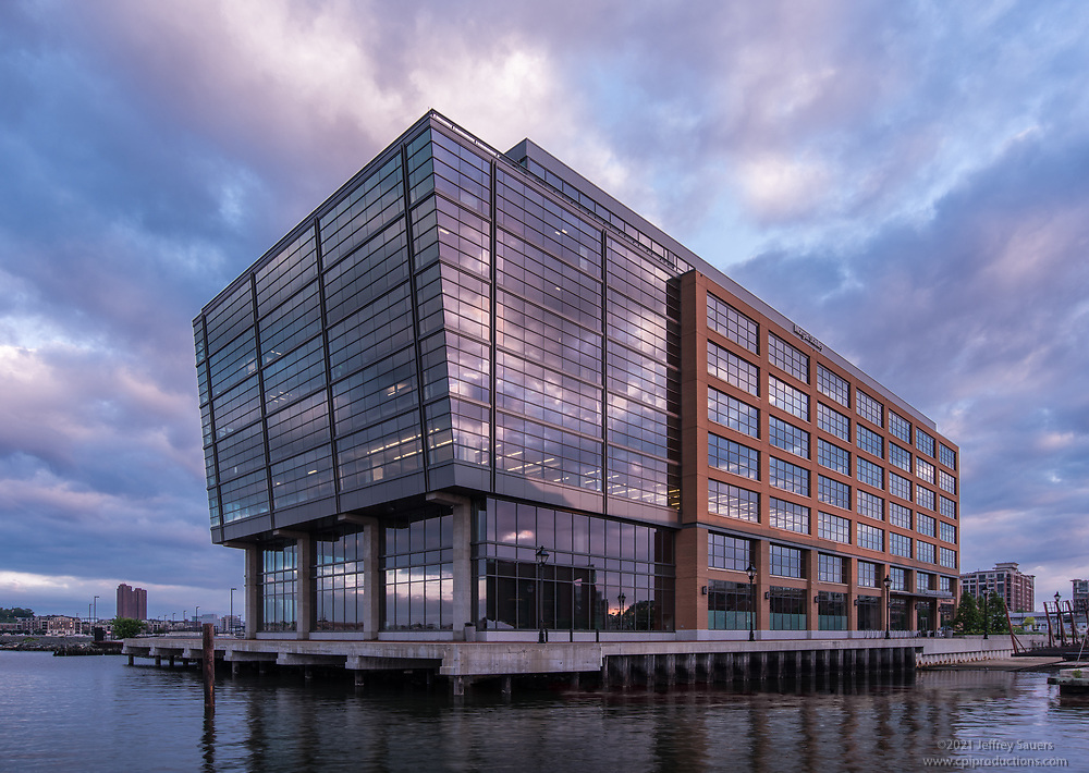 Architectural image of Thames Street Wharf  Office Building in Baltimore City by Jeffrey Sauers of Commercial Photographics, Architectural Photo Artistry in Washington DC, Virginia to Florida and PA to New England