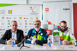 Roman Jakic during Press conference before departure on Paralympic Games in Pyeongchang, on February 28, 2018 in Triglav Zavarovalnica, Ljubljana, Slovenia. Photo by Ziga Zupan / Sportida